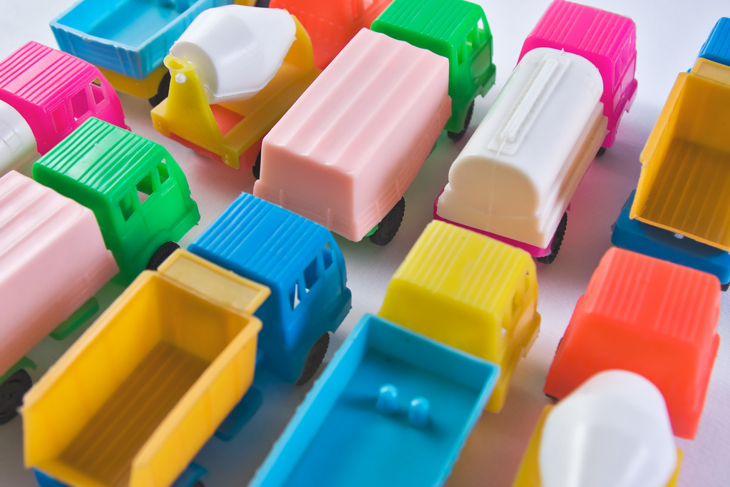 Plastic Toy Trucks